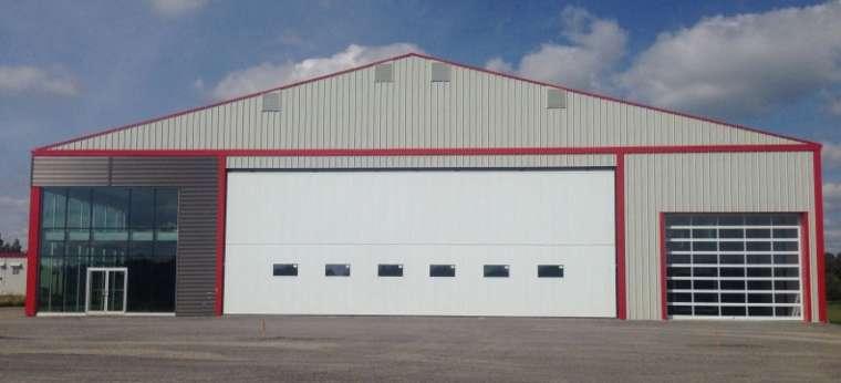 INSULATED COMMERCIAL DOORS (GX-175) • High-Lift Door Inc